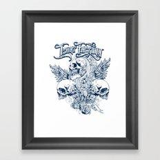 Trifecta Framed Art Print