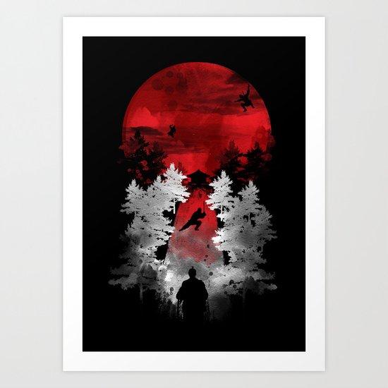 the warrior way Art Print