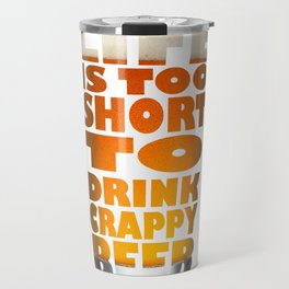 Beer glass Travel Mug