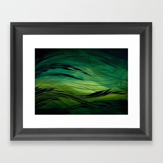 Ravine Framed Art Print