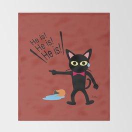 Not me!! Throw Blanket