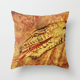 Dragon asia Throw Pillow