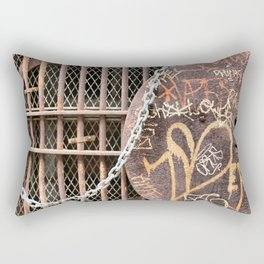 Spray Paint Secret Lover Rectangular Pillow