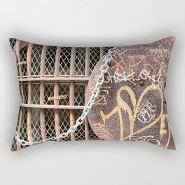 Spray Paint Secret Lover Rectangular Pillow