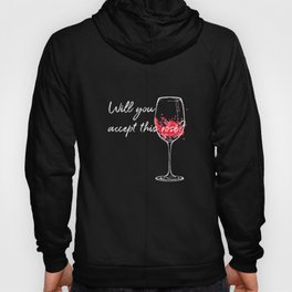 Will You Accept This Rose Charming Proposal Design Hoody