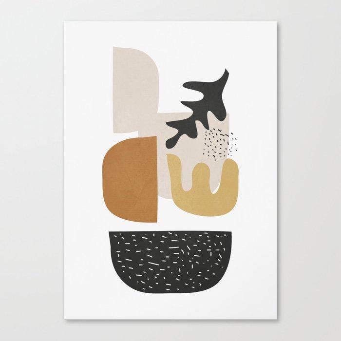 Abstract Shapes  2 Canvas Print