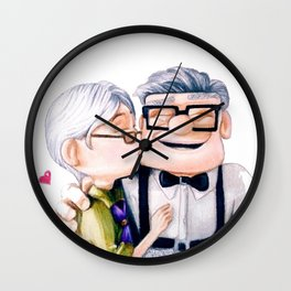 Carl and Ellie Wall Clock