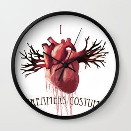 Eat your Heart out2 Wall Clock
