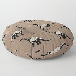 ChocoPaleo: Brontosaurus Floor Pillow