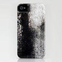 Negro sobre Blanco Slim Case iPhone (4, 4s)