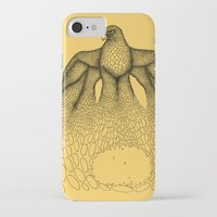 millenium falcon iPhone & iPod Cases featuring Falcon by Julia Kisselmann