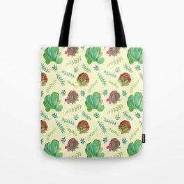 Paddle Plant Pattern Tote Bag