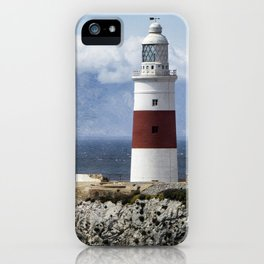Trinity Lighthouse, Gibraltar iPhone Case