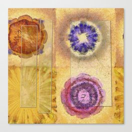 Seorita Weave Flower  ID:16165-024830-56081 Canvas Print