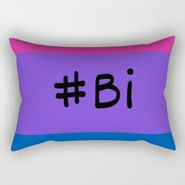 #bi flag Rectangular Pillow