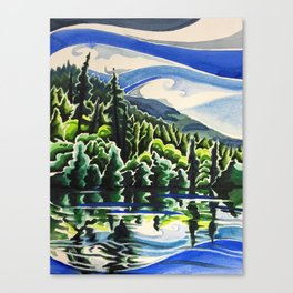 Going With the Flow Canvas Print