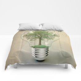 green ideas Comforters