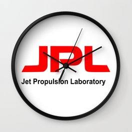Jet Propulsion Laboratory Wall Clock