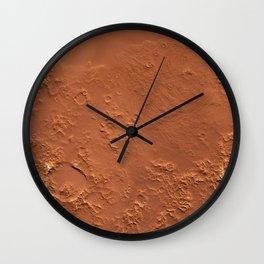 Mars Surface Wall Clock
