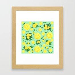 LEMON #1 Framed Art Print