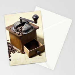 coffee grinder 6 Stationery Cards
