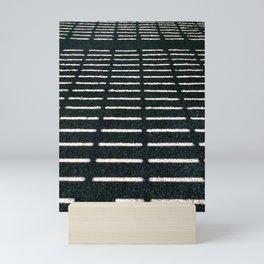 Geometrical shadows Mini Art Print