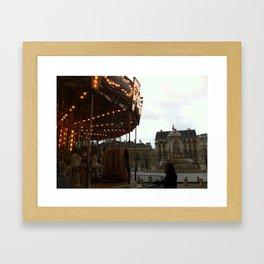 Noel a Paris Framed Art Print