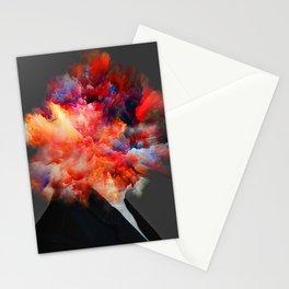 Overthinking Mind Stationery Cards