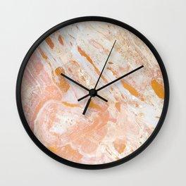 Gold Feelings Wall Clock