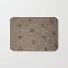 fibric pattern Bath Mat