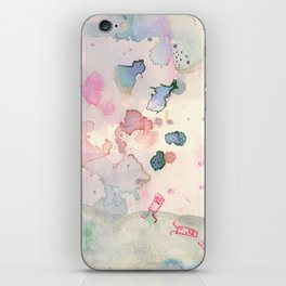 Pink Day Gone Wrong iPhone Skin