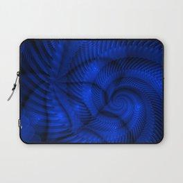 Multi-spiral azure Laptop Sleeve