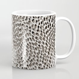 shifting dots in black and white Coffee Mug
