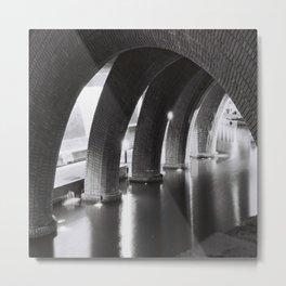 Stone Arches Metal Print