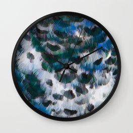 Peacock pattern  Wall Clock
