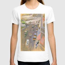 Fifth Avenue New York By Joaquin Sorolla T-shirt