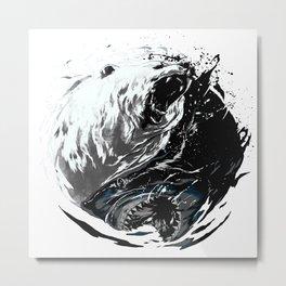 shark beep ying Metal Print