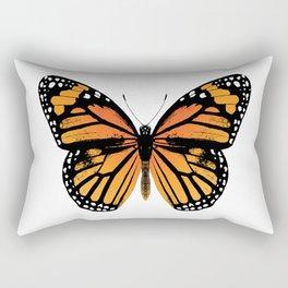 Monarch Butterfly | Vintage Butterfly | Rectangular Pillow
