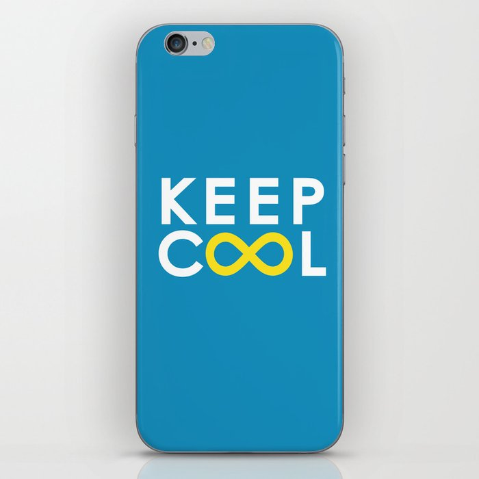 Forever coolness iPhone Skin