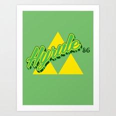 Hyrule Art Print