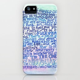 Wild One iPhone Case
