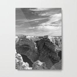 The Devil's Canyon Metal Print