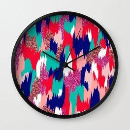 Elena Abstract Wall Clock