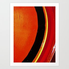 Saturn Ring Art Print