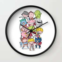 80's Babies Wall Clock