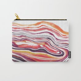 "Geode Series: ""Heatwave"" Carry-All Pouch"