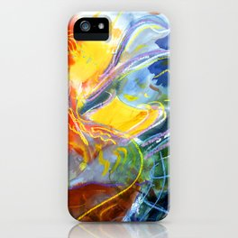 The Long Sleeved Dancer iPhone Case