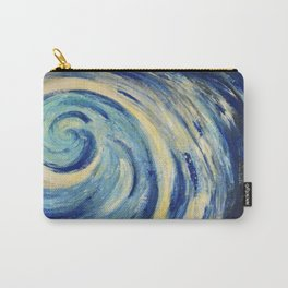 Sea wave image of abstract painting  Carry-All Pouch