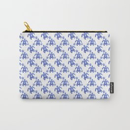 Flower Turtle Carry-All Pouch