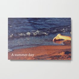 A summer day Metal Print